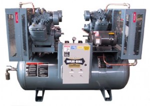 industrial duplex air compressors, electric two stage saylor beall saylor beall wire diagrams 7 5, 120, 707_duplex_w_ac