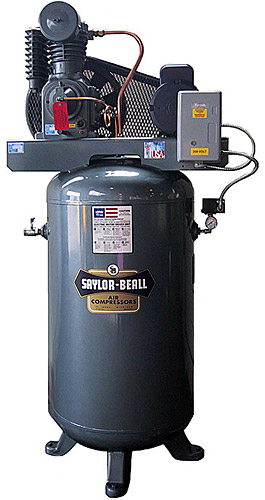 Vertical Air Compressors Industrial Two Stage Electric